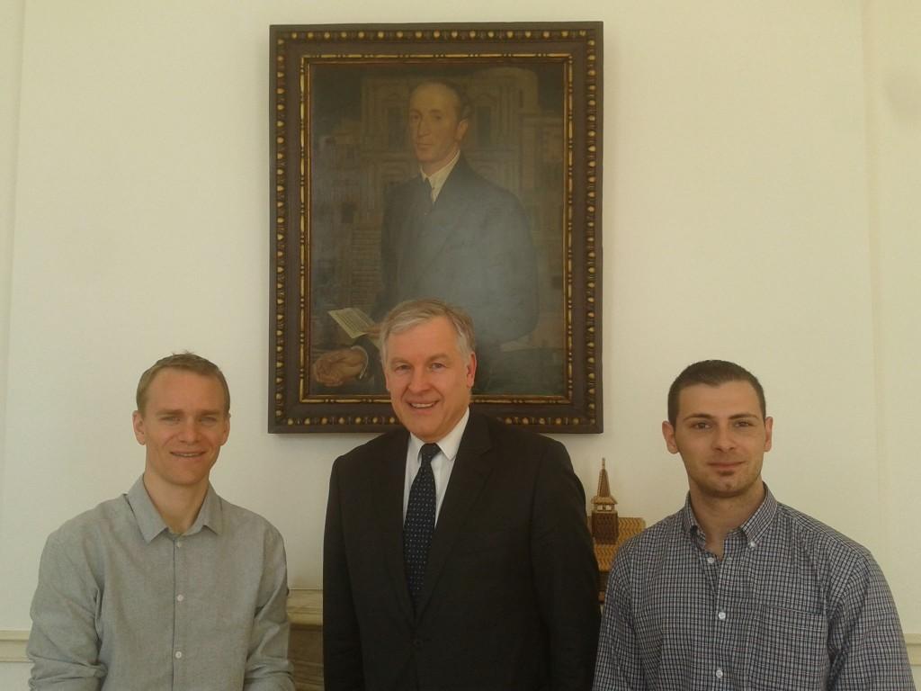 Empfang beim österreichischen Botschafter in London