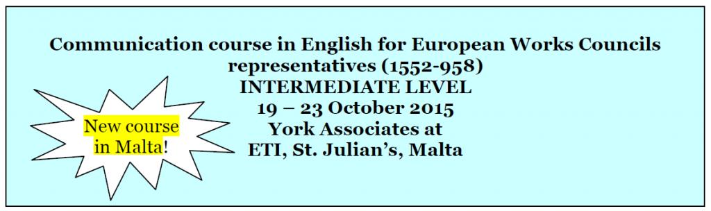 Englischkurs in Malta