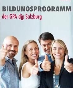 GPA-djp Salzburg Bildungsprogramm